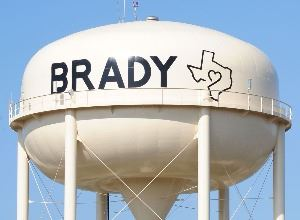 City of Brady Water Tower