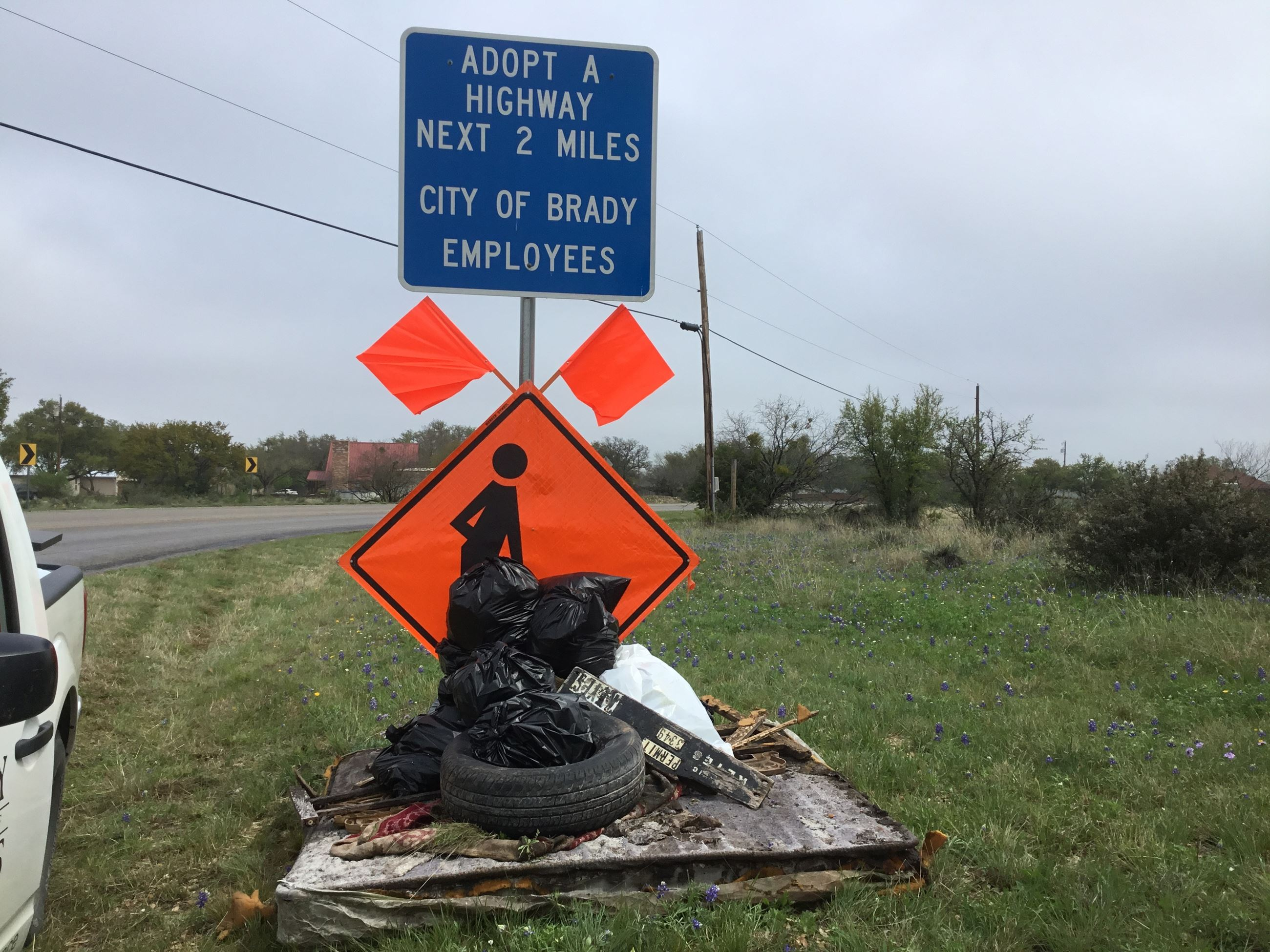 APRIL 2019 CITY OF BRADY SIGN